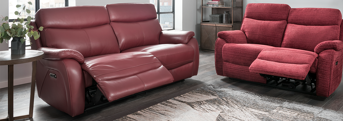 3 Seater Power Recliner Sofas